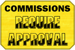 Approval Commissions Badge by LevelInfinitum