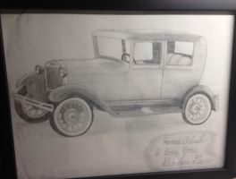 Model A Ford by hchibbles