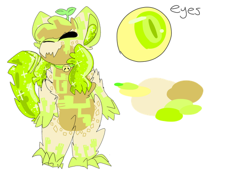 APPLE   CATSPROUT MYO {APPROVED} by Cosmic-Avian