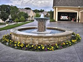 HDR Fountain by SD-Designs