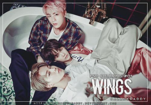 #01: WINGS [PSD Coloring] by callmxsugadaddy