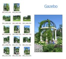 Gazebo Garden Photo Pack by MapleRose-stock