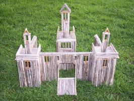 Castle for Small Soldiers by ahuen333