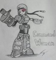 Robot Master OC: Command Woman by Jo3-R6e