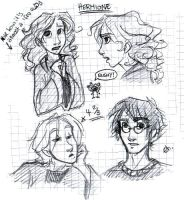 HP chara sketches by leelakin