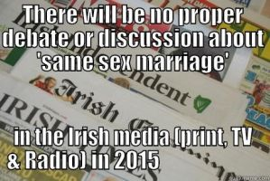 NO debate and NO discussion in our Irish media by ChristianTruthTeller