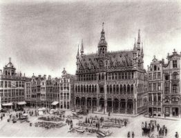 Grand Place Version 2 by reesmeister