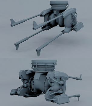 Ravager Auto-Turret by Jholliday