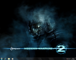 Windows 7: Modern Warfare 2 by NotoriouS-GrafiX