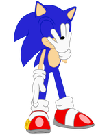 Sonic Equestria Vector - Facepalm by cooleevee759