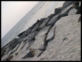 Cape May Rocks by Wickedly-Witchy