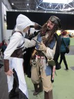 LBM 2013 #8 Assassin Jack Sparrow Crossover by Drawer88