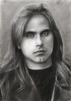 Andre Matos - The young Andre by akaLilith