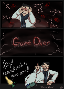 No Game Overs - Knock Knock by HellLemur