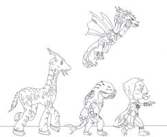 Kaiju: Merry-Band by Cyprus-1