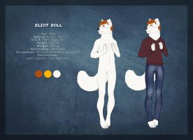 Eliot Doll (Reference Sheet) by J-Harper