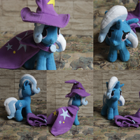 The Great and Powerful Trixie Plush by NakedSkull