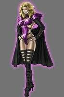 Star Sapphire Emma Frost by Lord-Lycan
