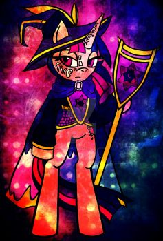 ED Archmagister Twilight Sparkle by ScribbleSketchScoo