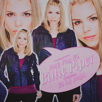 Billie Piper PNG. by devilxkitten