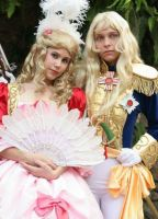 The Rose of Versailles by petraleao