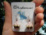 Beaded Cupcake Earrings by FeynaSkydancer