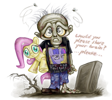 Zombo The Zombrony by DeathCutlet