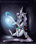 magic creatures-unicorn cat by Silverbloodwolf98