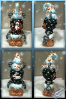 "Vinylmation 9"" Haunted Mansion Holiday Custom by StephanieCassataArt"