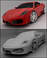 Ferrari F430 by Tom-3D