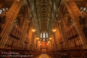 Lancing Chapel HDR 2 by twilliamsphotography