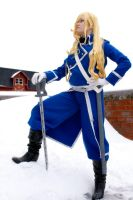 Olivier Mira Armstrong, conqueror by Terran-myth