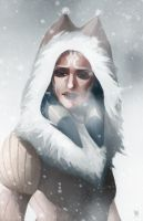 Winter Ahsoka by charlestanart