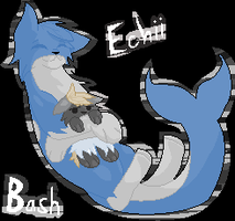Pixel thingy - Bash and Echii by caseVIRUS