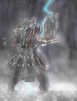 Scud Melee in a RAIN STORM by shumworld
