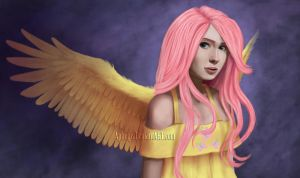 Fluttershy by Aphelps