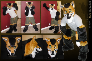 Doctor Fox Fursuit by Tsebresos