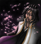 + Byakuya in the dark + by Lili-ve