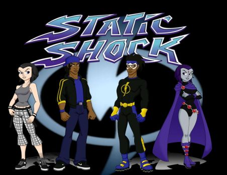 Static Shock Title Card by Knickers22