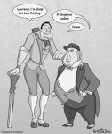 Clayton and Lawrence by NuclearJackal