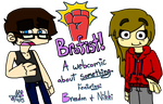 Brofist! Title Card by uhnevermind