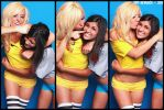 XX Girls 03 Jessica Nigri and Paris Sinclair by tatehemlock