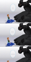MMD Frozen-PKMN Comic - Stare and don't laugh by JackFrostOverland