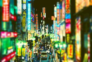 Tiltshift Japan by OrkSigma