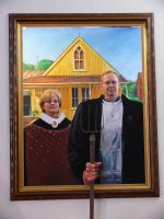 American Gothic by charlieblue666