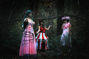 dark wood circus - vocaloid by omae-no-yome