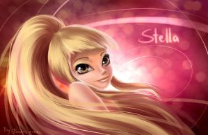 Winx Club Stella Sirenix portrait by fantazyme