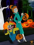 Halloween '14: Steven n Pearl as Lucy Wilde n Dave by TheEdMinistrator765