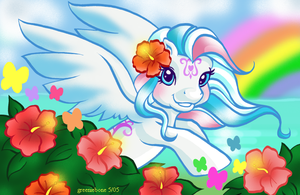 Springtime on Butterfly Island by greeniebone
