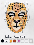 Realistic Leopard makeup sketch #1 by toberkitty